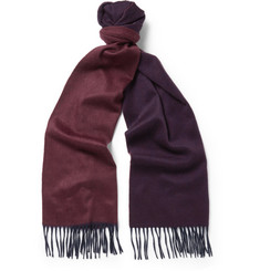 Begg & Co Arran Reversible Brushed Cashmere Scarf