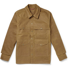 Filson Tin Cloth Cruiser Oiled Cotton-Canvas Field Jacket