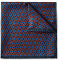 Alexander McQueen - Printed Silk Pocket Square