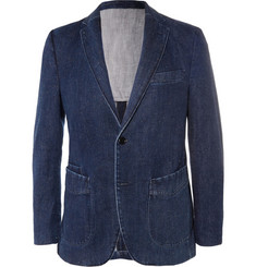 Officine Generale Slim-Fit Selvedge Denim Suit Jacket