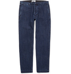 Officine Generale Selvedge Denim Suit Trousers