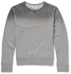 Officine Generale Dégradé Cotton Sweatshirt
