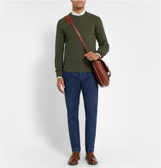 Officine Generale Ribbed Merino Wool Sweater