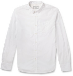 Officine Generale Slim-Fit Cotton-Poplin Shirt