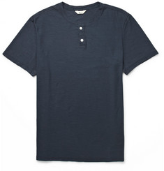 NN.07 Chandler Cotton-Jersey Henley T-Shirt