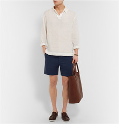 Orlebar Brown Linen and Cotton-Blend Shorts