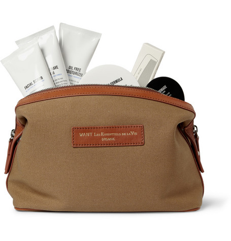 Baxter of California WANT Les Essentiels de la Vie Grooming Set and Wash Bag