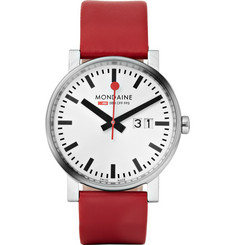 Mondaine Evo Stainless Steel Watch