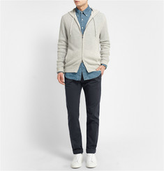 J.Crew Sun-Faded Straight-Leg Cotton-Twill Chinos