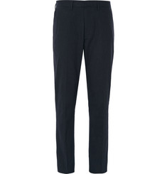 J.Crew Bowery Herringbone Cotton Trousers