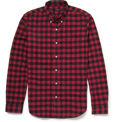 J.Crew Checked Cotton Shirt