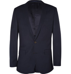 J.Crew Navy Ludlow Slim-Fit Wool Travel Suit Jacket