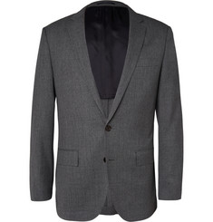 J.Crew Grey Ludlow Slim-Fit Wool Travel Suit Jacket