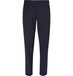 J.Crew Navy Ludlow Slim-Fit Wool Travel Suit Trousers