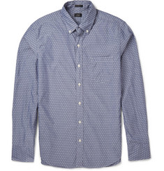 J.Crew Dobby Cotton Shirt