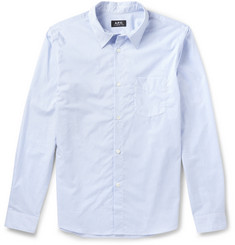 A.P.C. Striped Cotton Shirt