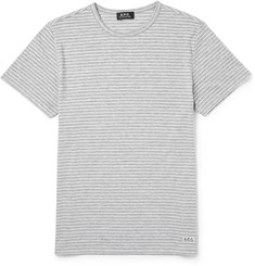 A.P.C. Striped Jersey T-Shirt
