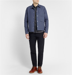 Folk Lightweight Cotton-Canvas Jacket