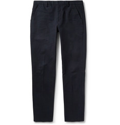 Folk Vincent Regular-Fit Cotton-Canvas Suit Trousers