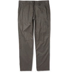 Folk Straight-Leg Cotton Trousers