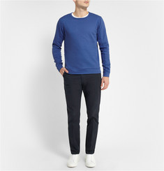 Folk Cotton-Blend Jersey Sweatshirt
