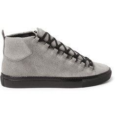 Balenciaga Arena Suede High Top Sneakers