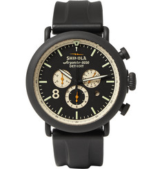 Shinola The Runwell Contrast Chronograph Watch 47mm