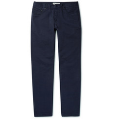 Gieves & Hawkes Regular-Fit Cotton-Blend Twill Chinos