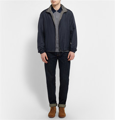 Gieves & Hawkes Reversible Silk-Twill and Matte-Satin Jacket