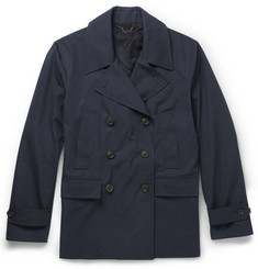 Gieves & Hawkes Double-Breasted Cotton Jacket