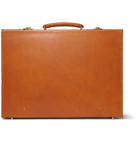 Kingsman Swaine Adeney Brigg Leather Briefcase Mr Porter