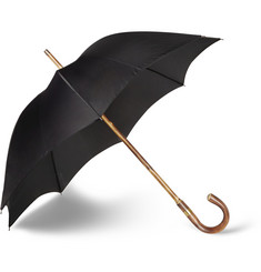 Kingsman Swaine Adeney Brigg Chestnut Wood-Handle Umbrella