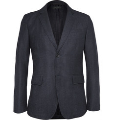 Rag & bone Phillips Slim-Fit Checked Wool-Blend Blazer