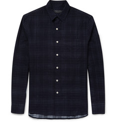 Rag & bone Double-Faced Checked Cotton Shirt