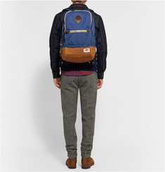 Rag & bone Sporty Canvas and Suede Backpack