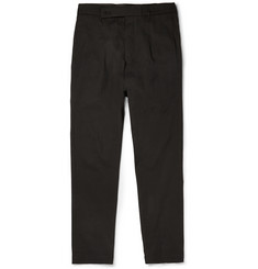 Rick Owens Astaire Drop-Crotch Cotton Trousers