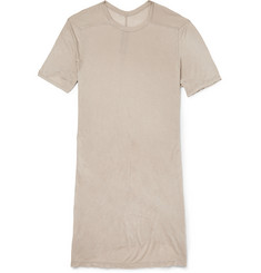 Rick Owens Oversized Long-Length Bamboo-Jersey T-Shirt