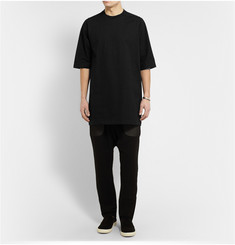 Rick Owens Oversized Cotton Sweatshirt