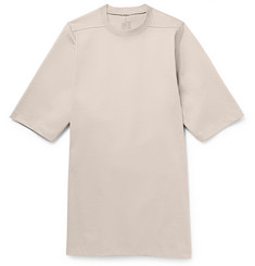 Rick Owens Oversized Short-Sleeved Cotton Sweatshirt