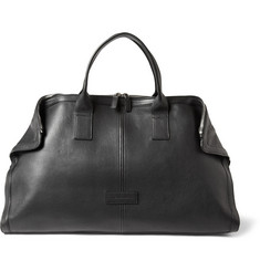 Alexander McQueen De Manta Leather Holdall Bag