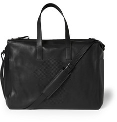 Alexander McQueen Skull Perforated Leather Holdall
