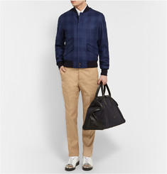 Alexander McQueen Brushed Wool Bomber Jacket
