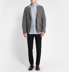 Alexander McQueen Slim-Fit Printed Cotton-Poplin Shirt