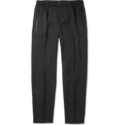 Alexander McQueen Prince Of Wales Check Woven Sweatpants