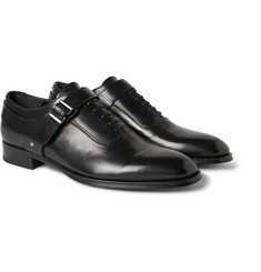 Alexander McQueen Leather Harness Oxford Shoes