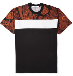 Givenchy Columbian-Fit Paisley-Print Cotton T-Shirt