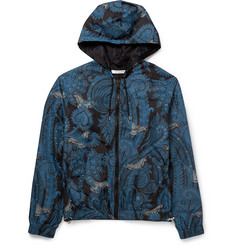 Givenchy Paisley-Print Hooded Jacket