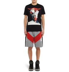 Givenchy Panelled Cotton Shorts