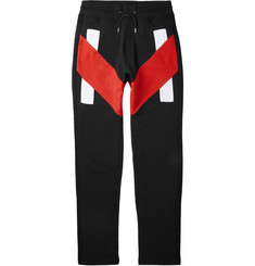 Givenchy Panelled Cotton Sweatpants
