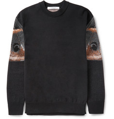 Givenchy Butterfly-Intarsia Cotton Sweater